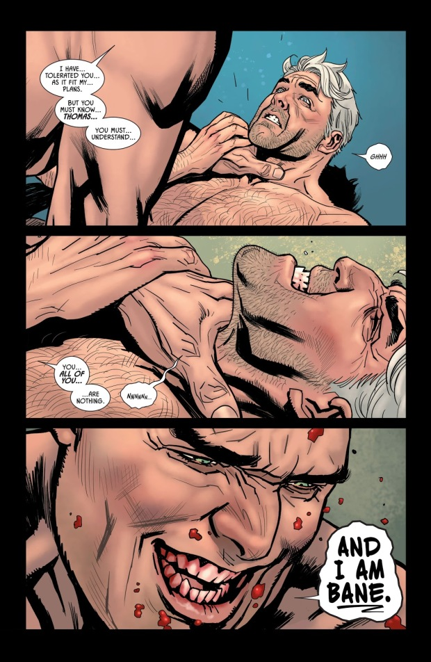 Thomas Wayne VS Bane
