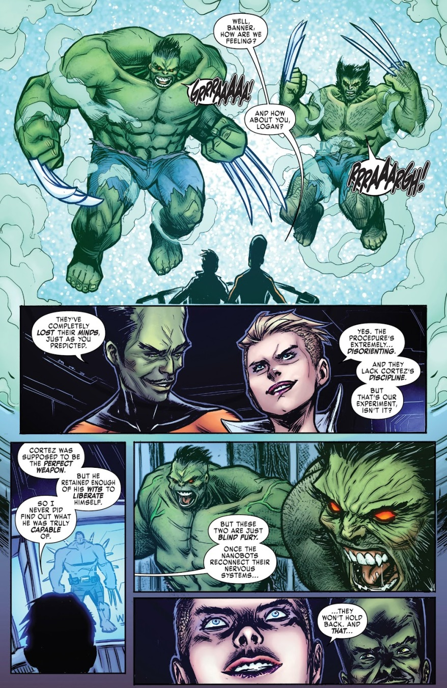 Wolverine And The Hulk Become Hulkverines