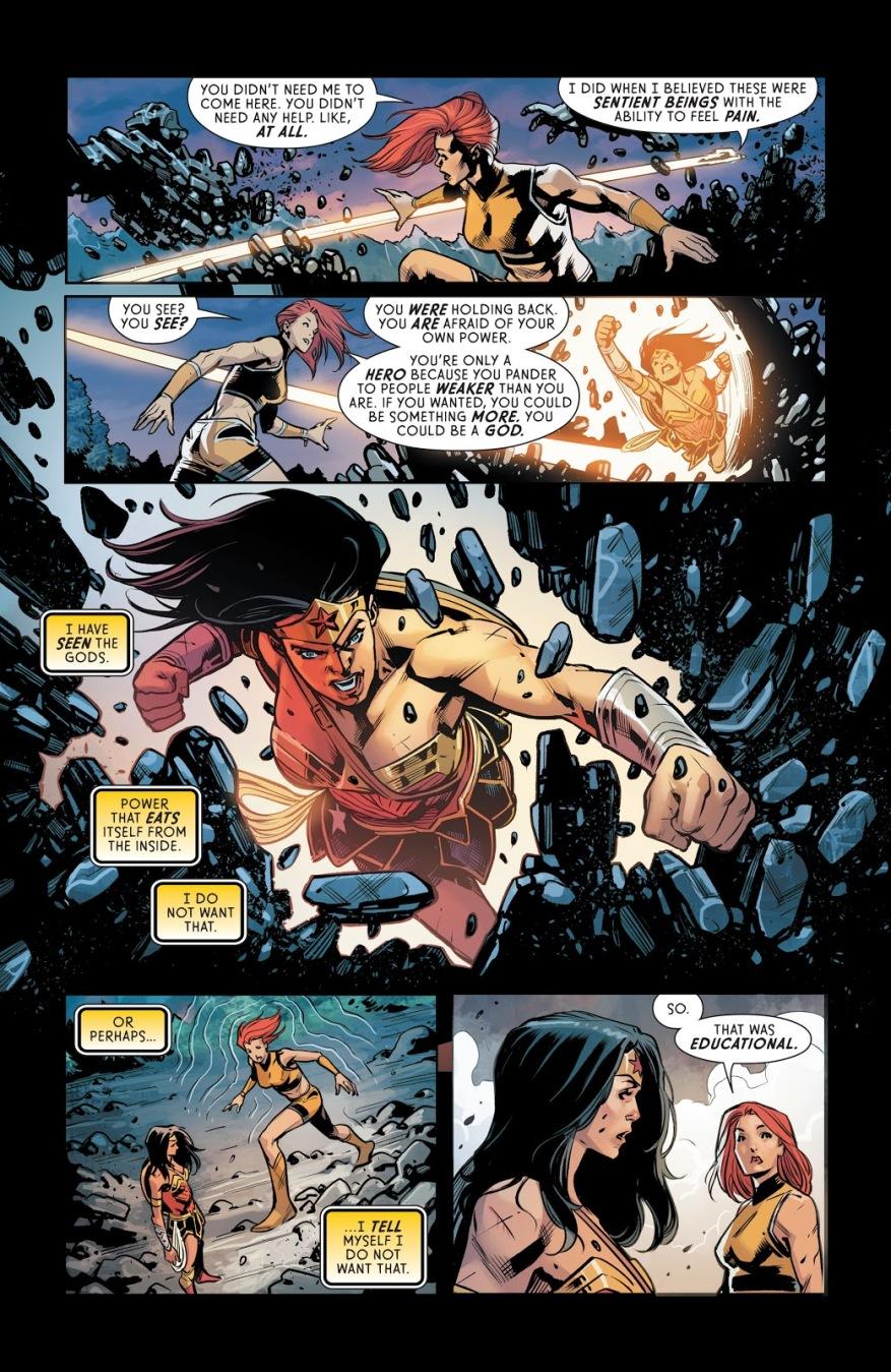 Wonder Woman Takes On a Dozen Titans
