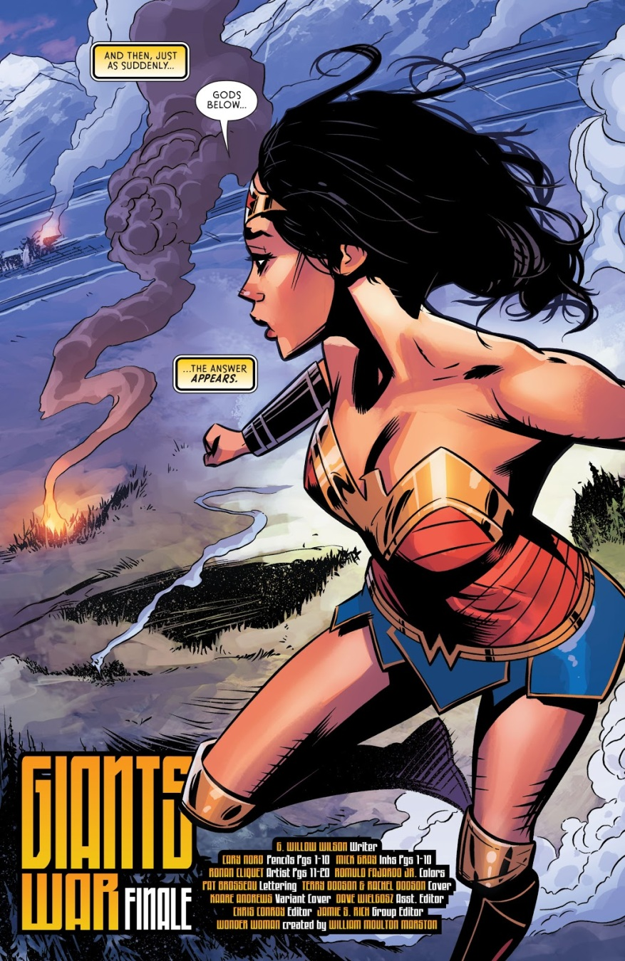 Wonder Woman Vol. 5 #68