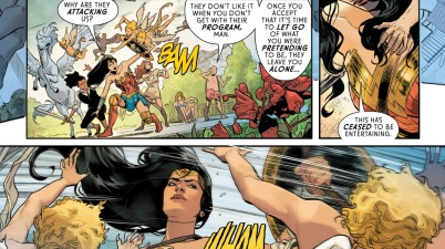 Wonder Woman VS Winged Cupids (Rebirth)