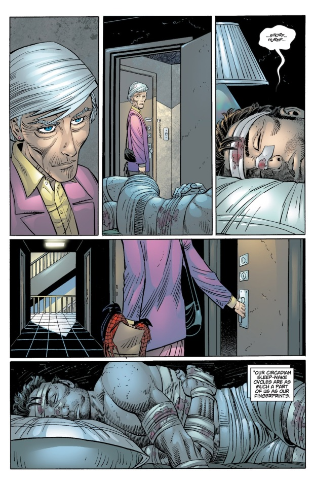 Aunt May Learns Peter Parker Is Spider-Man
