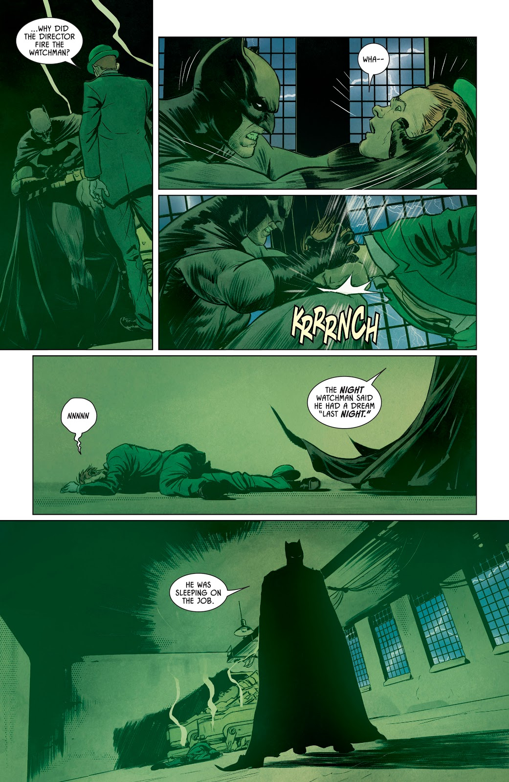 Batman Escaping From Bane's Nightmare Trap | Comicnewbies