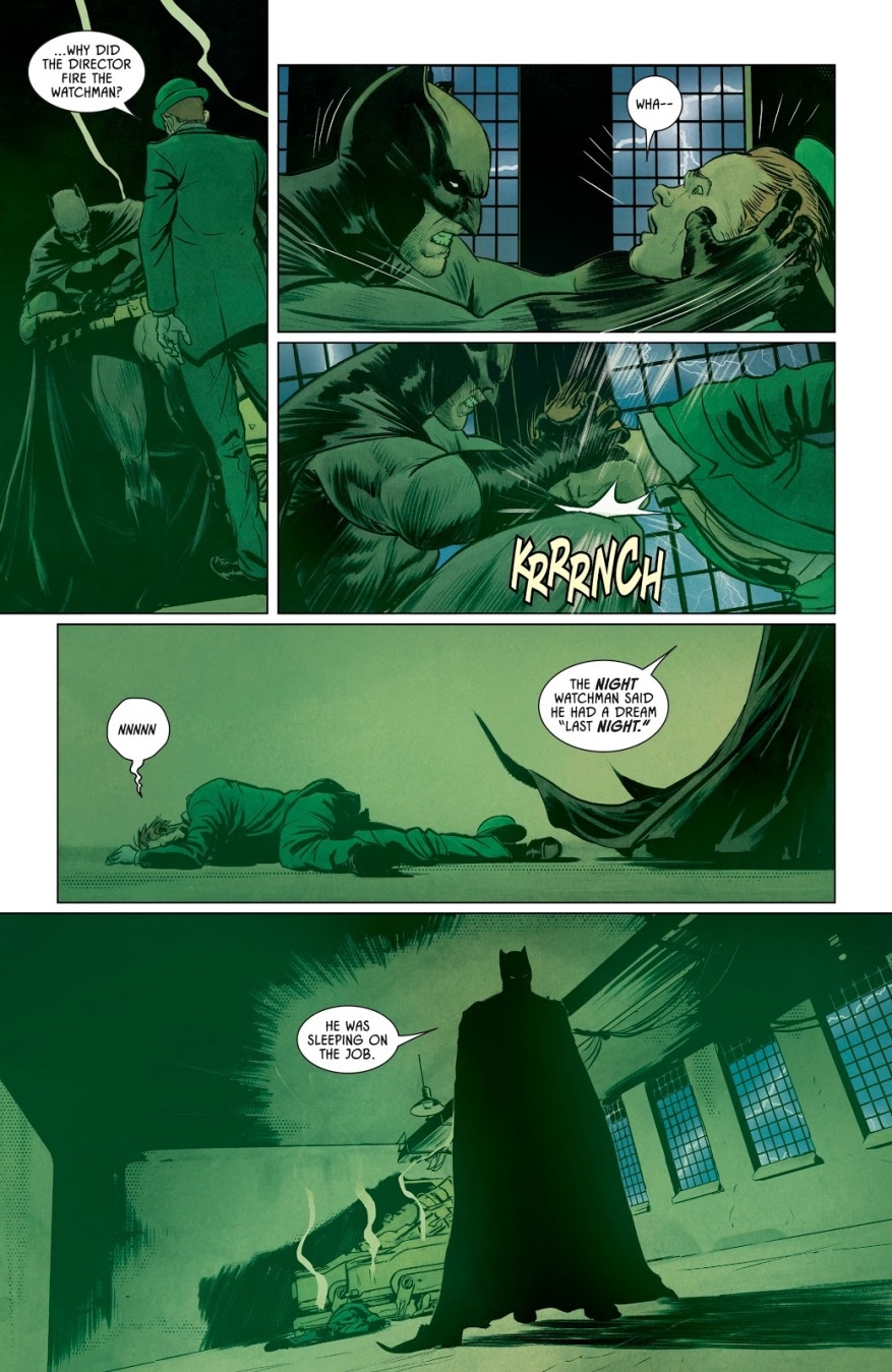 Batman Escaping From Bane's Nightmare Trap