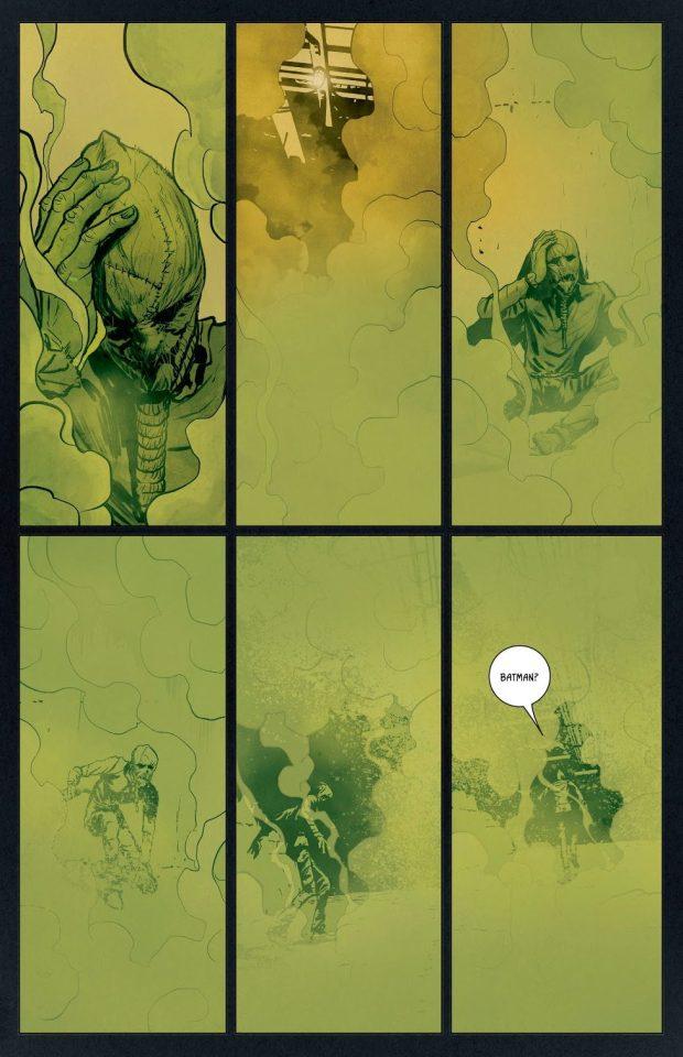 Batman VS The Scarecrow (Knightmares)