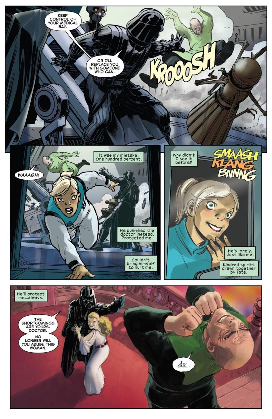 Darth Vader Has A Crazy Stalker