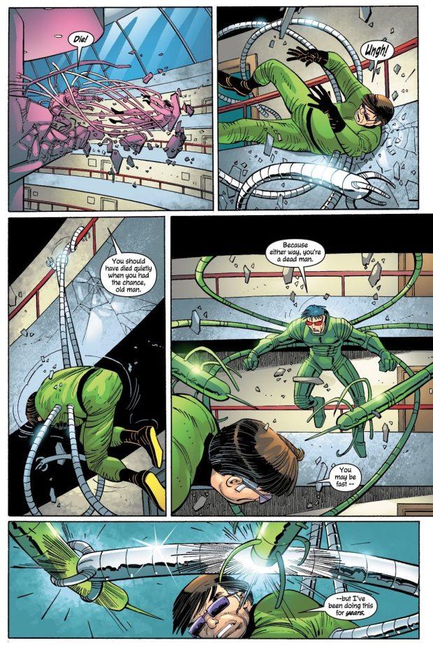 Doctor Octopus VS Luke Carlyle