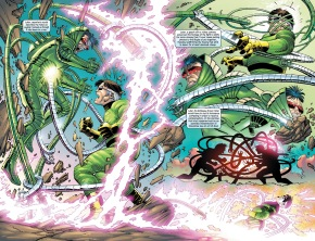 Doctor Octopus VS Luke Carlyle