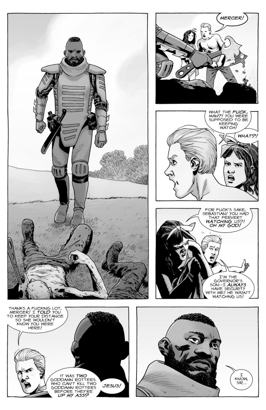How Badass Mercer Is (The Walking Dead)