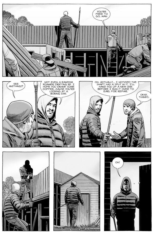 Maggie Greene Hooks Up With Dante (The Walking Dead)