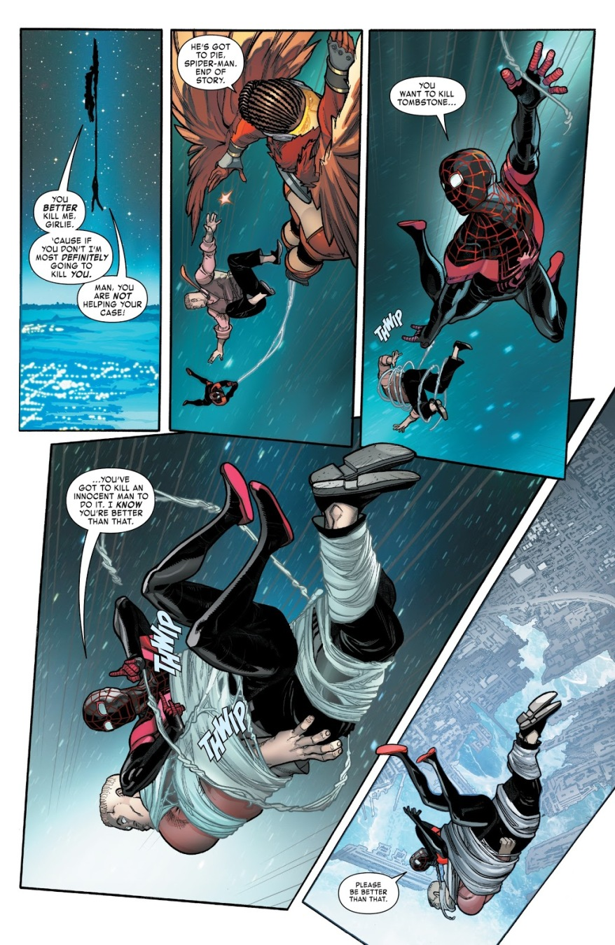 Spider-Man And Starling VS Tombstone