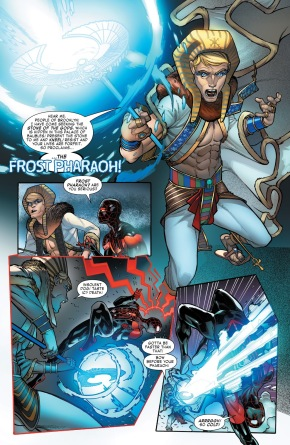 Spider-Man VS Frost Pharoah