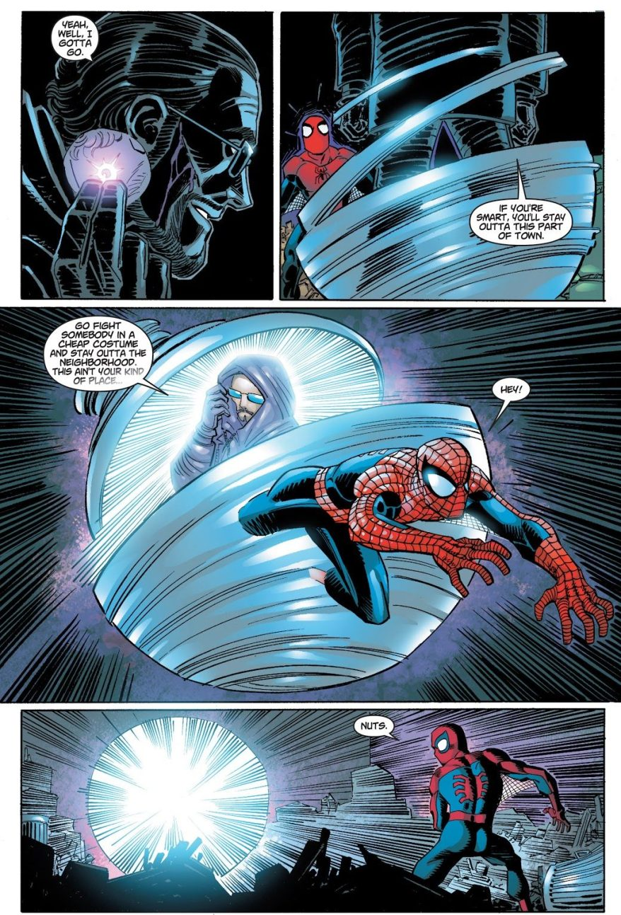 Spider-Man's First Meeting With Shade