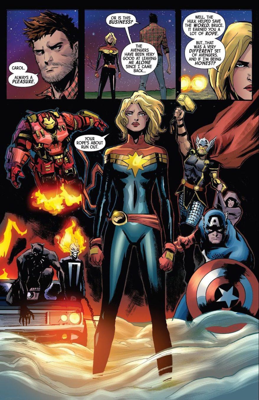 The Avengers (The Immortal Hulk #6)