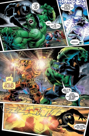 The Avengers VS The Immortal Hulk