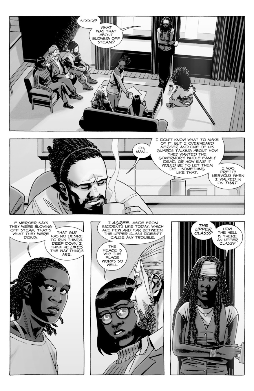 The Class System Of The Commonwealth (The Walking Dead)