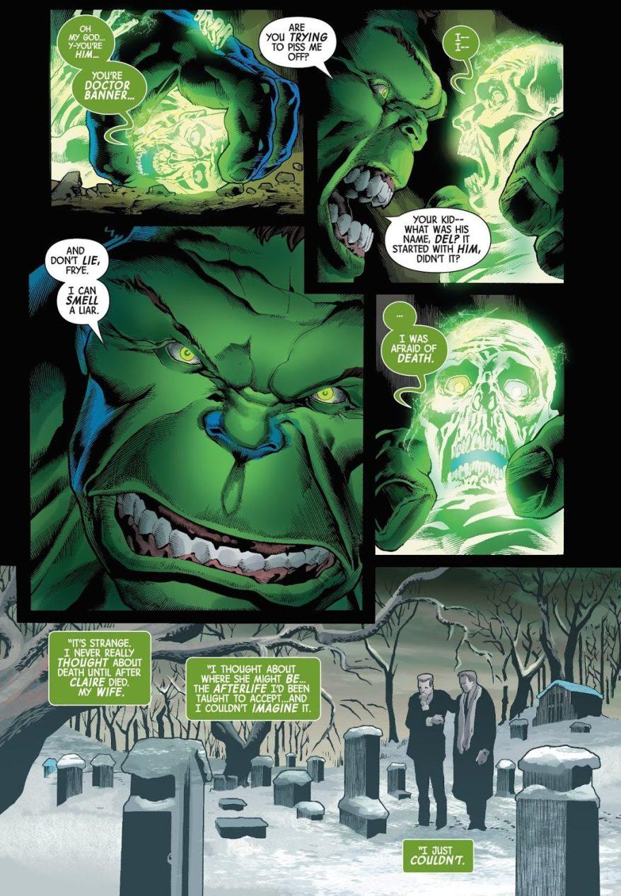 The Hulk VS Doctor Frye