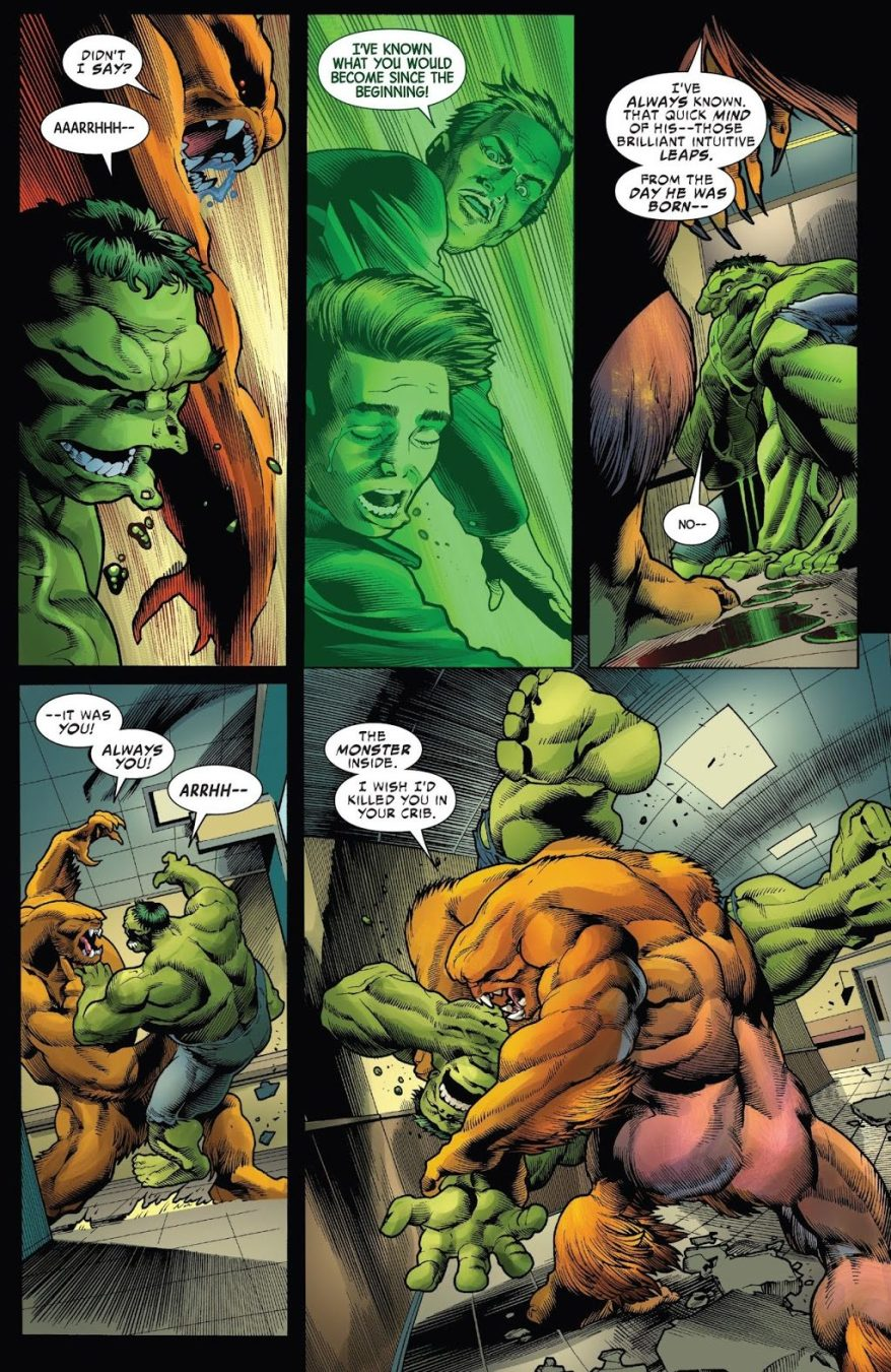 The Immortal Hulk VS Sasquatch