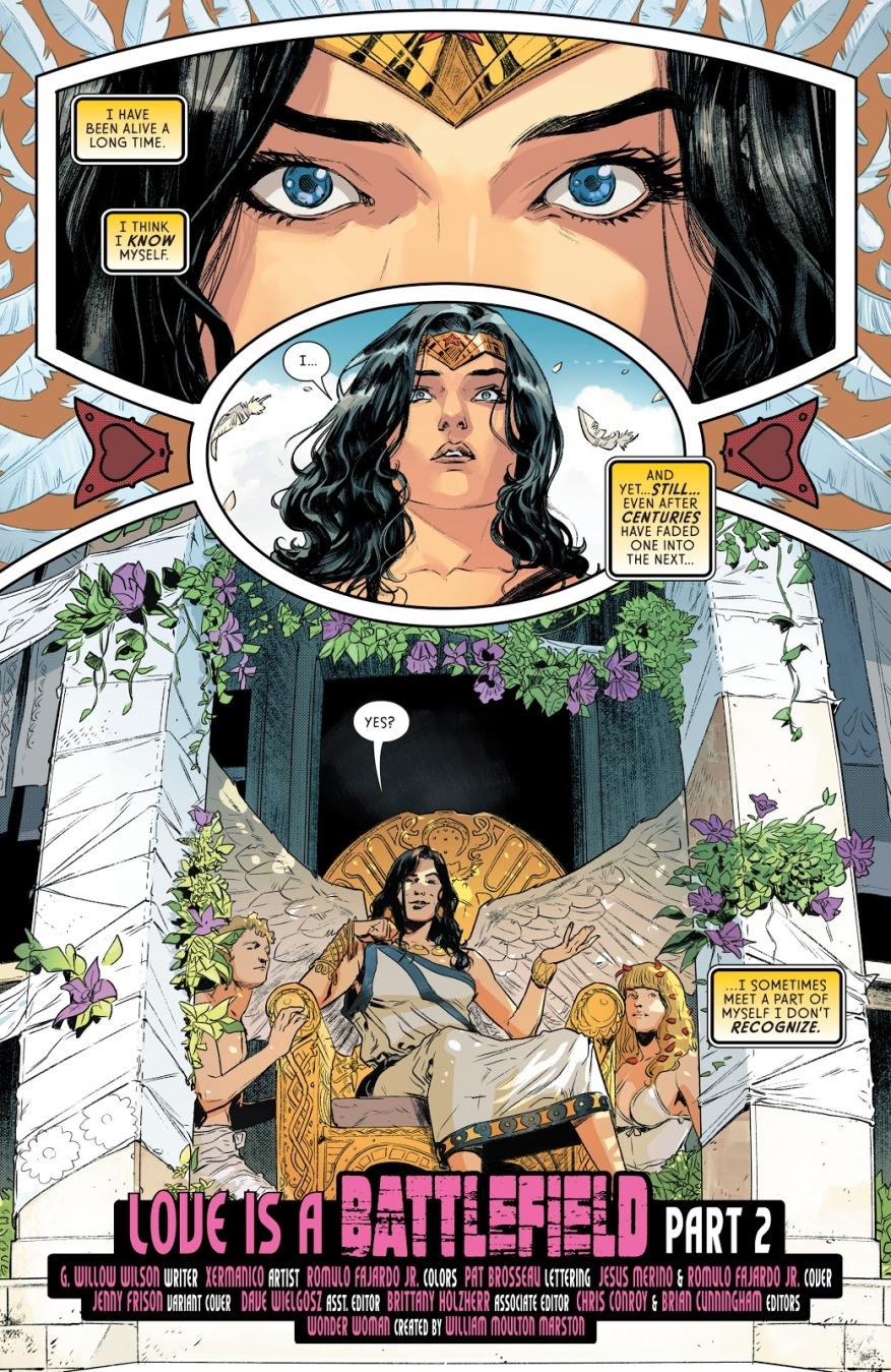 Wonder Woman Resists Atlantiades
