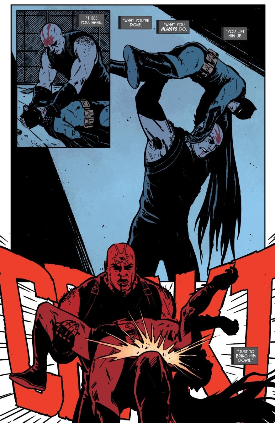 Bane Breaks Batman's Back (Rebirth)