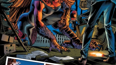 Betty Ross-Banner As The Harpy