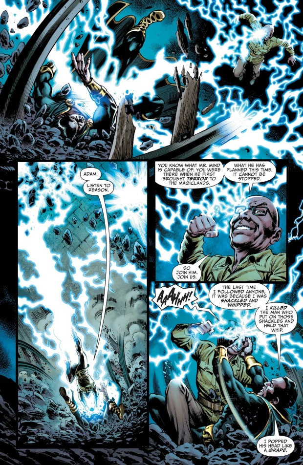Black Adam VS Doctor Sivana (Rebirth)