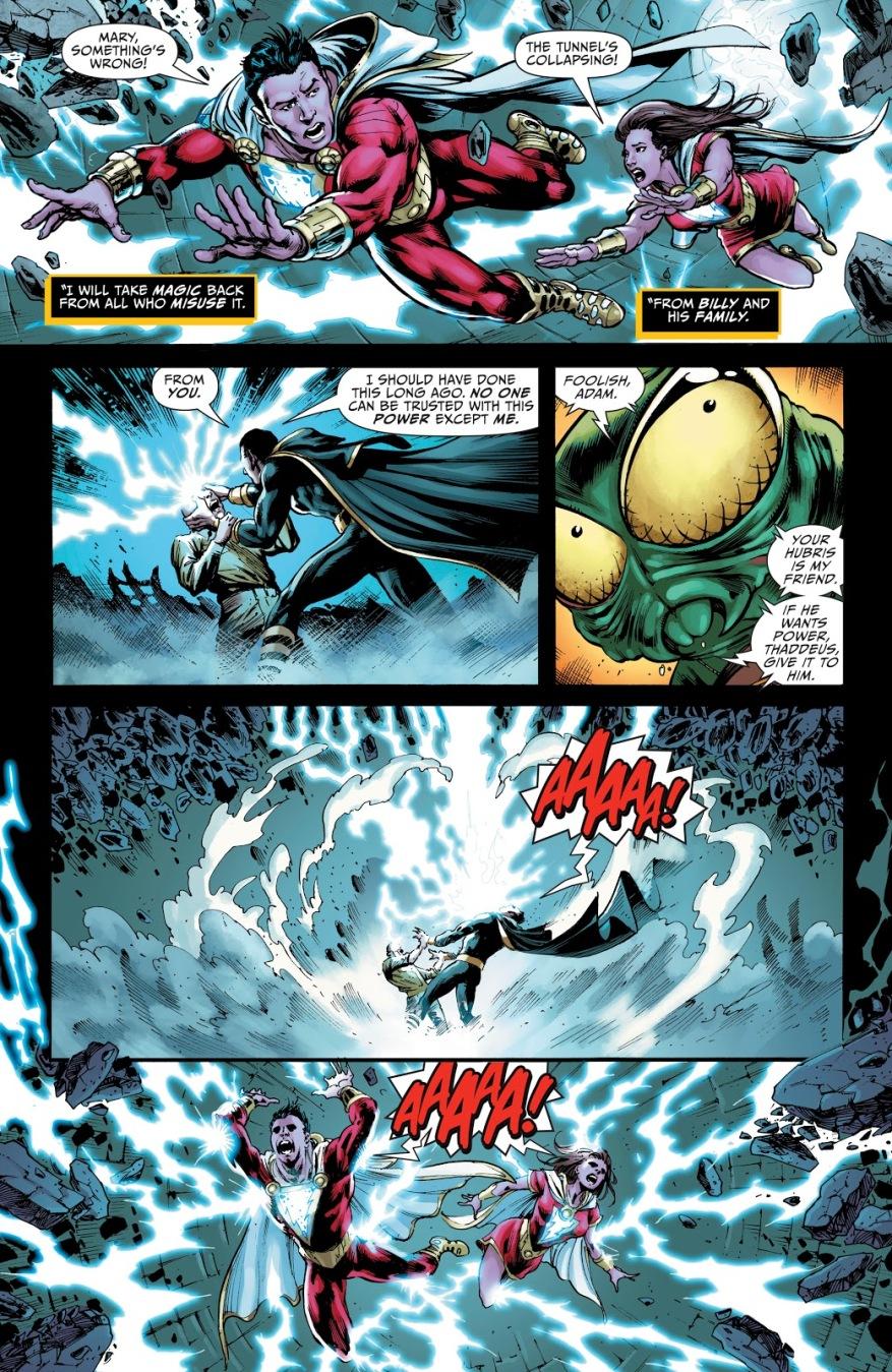 Black Adam VS Doctor Sivana (Rebirth)