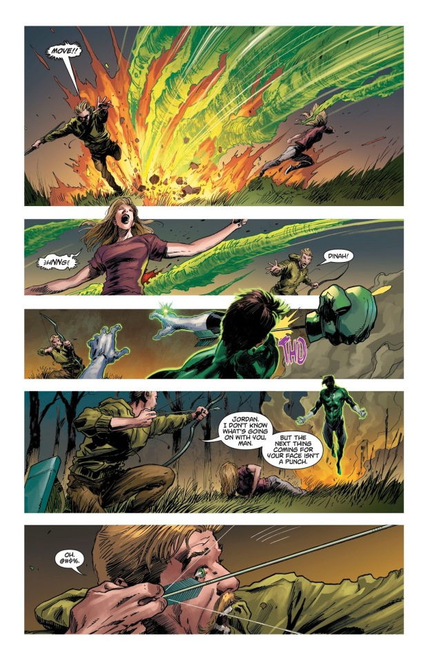 Black Canary Kills Hal Jordan (DCeased)