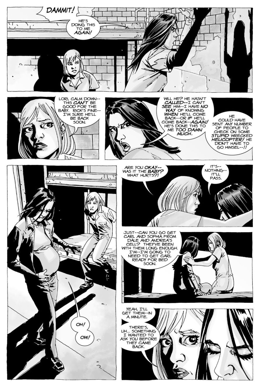 Carol Wants To Marry Rick And Lori Grimes (The Walking Dead)