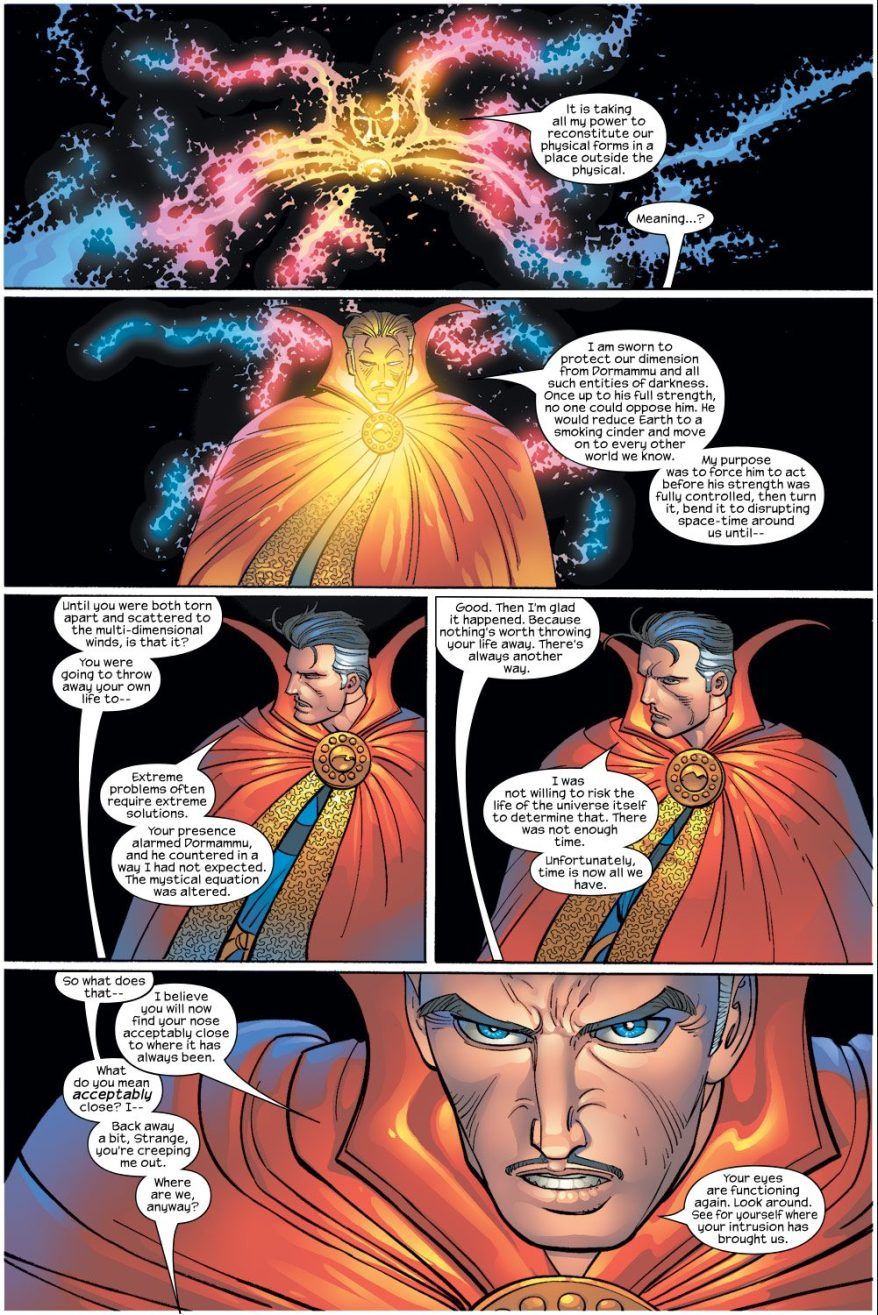 Doctor Strange And Spider-Man VS Dormammu