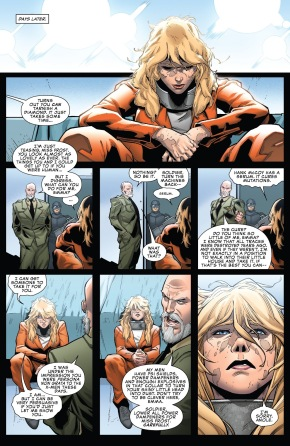 Emma Frost Betrays The Mutants To ONE