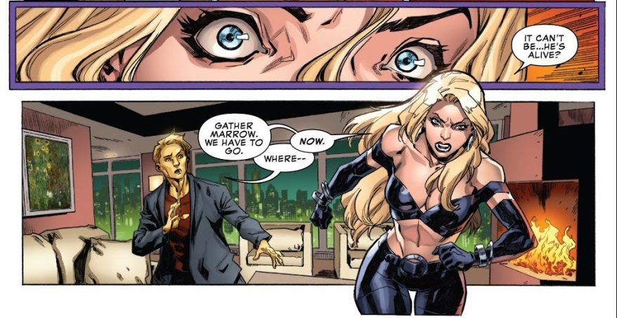 Emma Frost Still Loves Cyclops (Uncanny X-Men Vol. 5 #19) 2