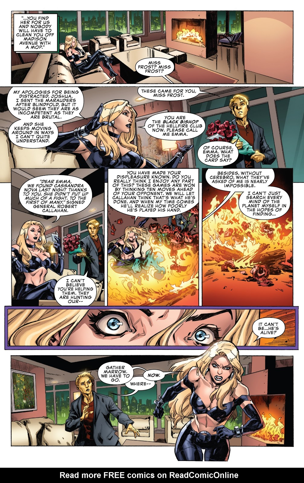 Emma Frost Still Loves Cyclops (Uncanny X-Men Vol  5 #19