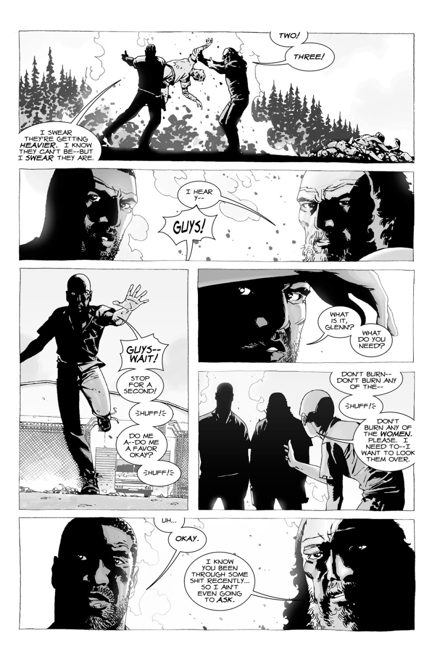 Glenn Rhee Finds A Ring For Maggie Greene (The Walking Dead)