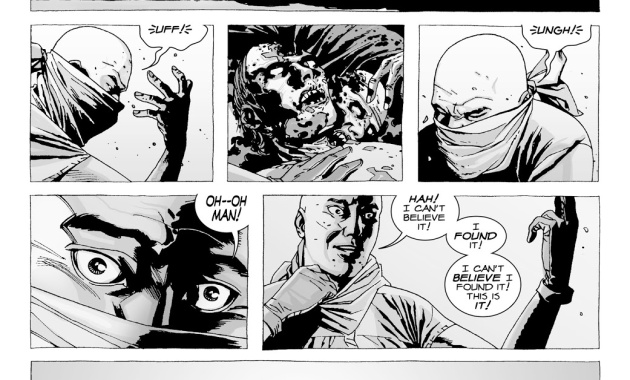 Glenn Rhee Finds A Ring For Maggie Greene (The Walking Dead)