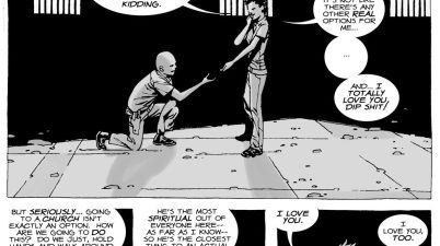 Glenn Rhee Proposes To Maggie Greene (The Walking Dead)