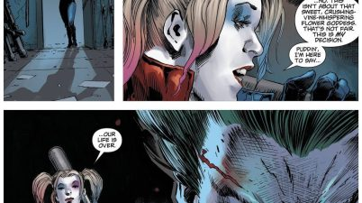 Harley Quinn Breaks Up With The Joker (DCeased)
