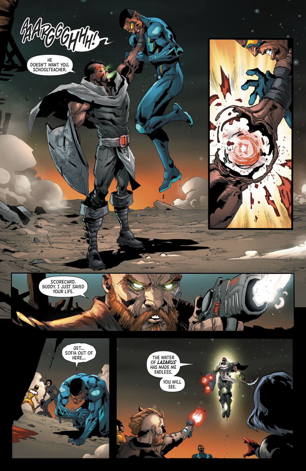 Ishmael Defeats The Outsiders | Comicnewbies
