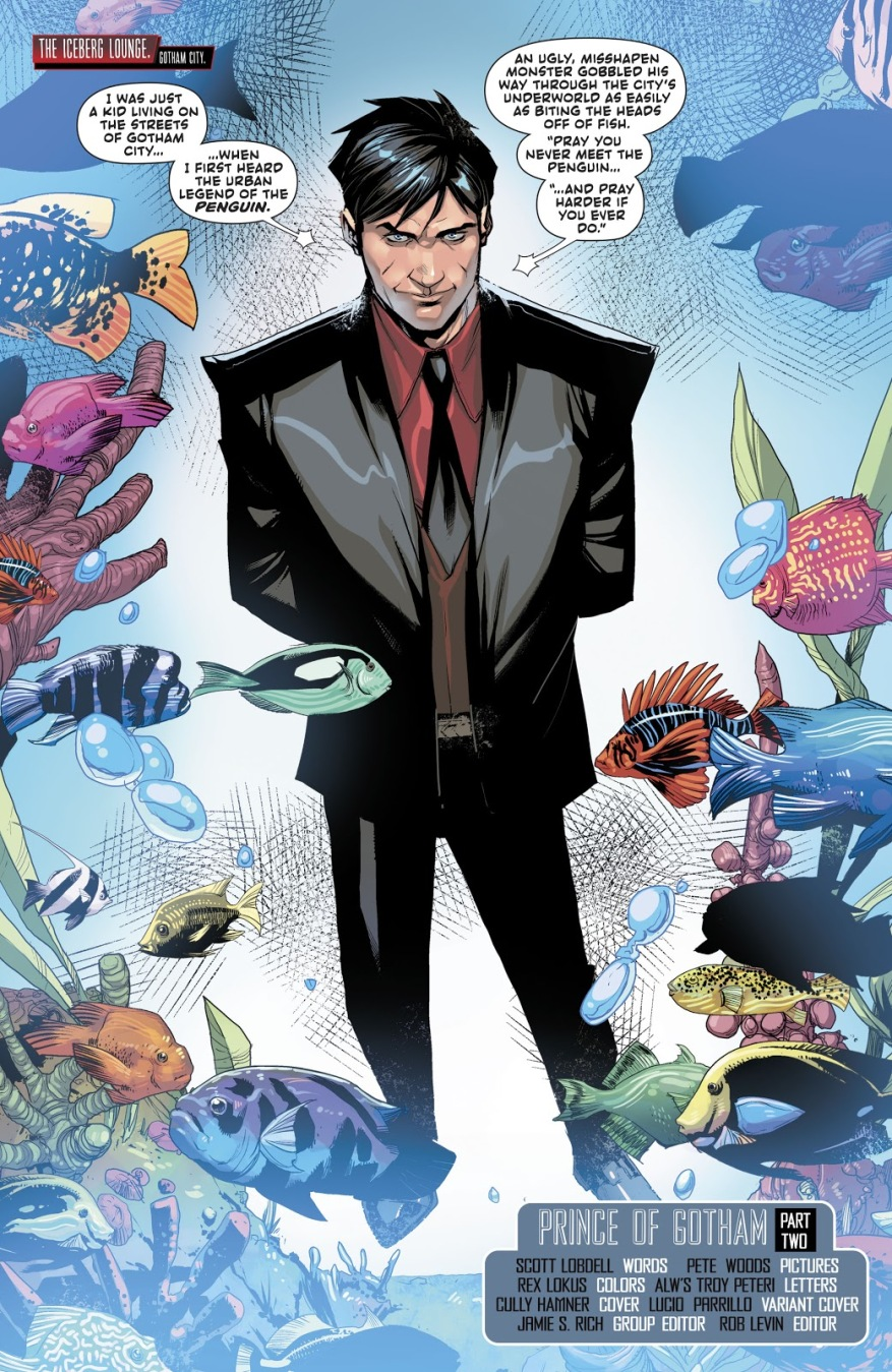 Jason Todd (Red Hood And The Outlaws #33)