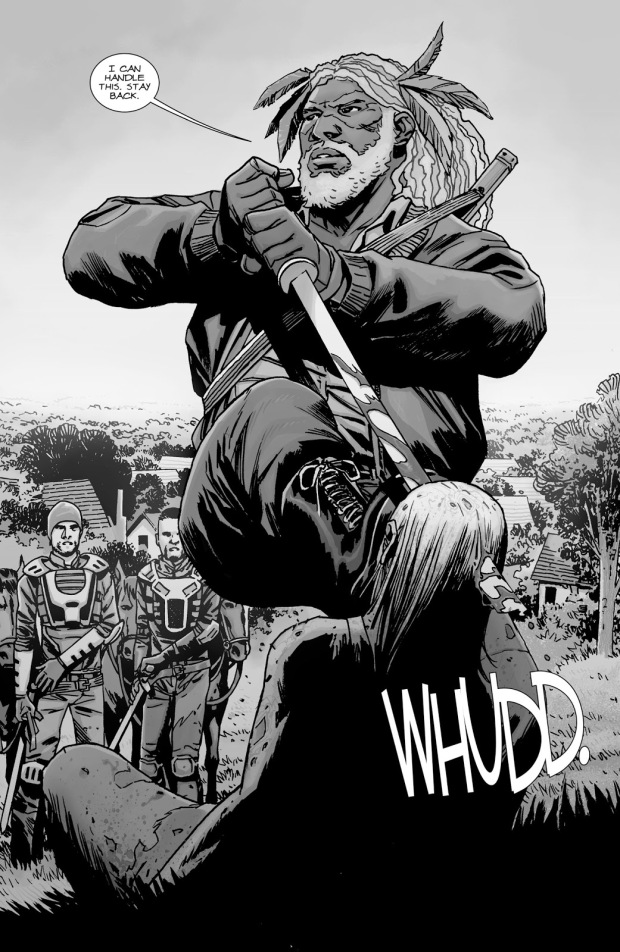 King Ezekiel (The Walking Dead #139)