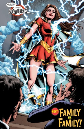 Lady Shazam Reveals Her Identity To Her Parents