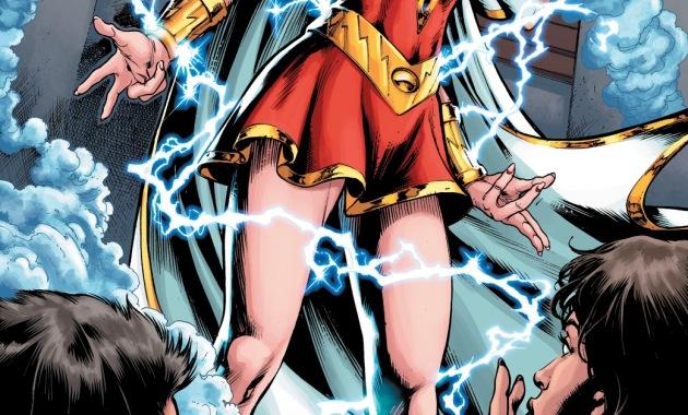 Lady Shazam Reveals Her Identity To Her Parents