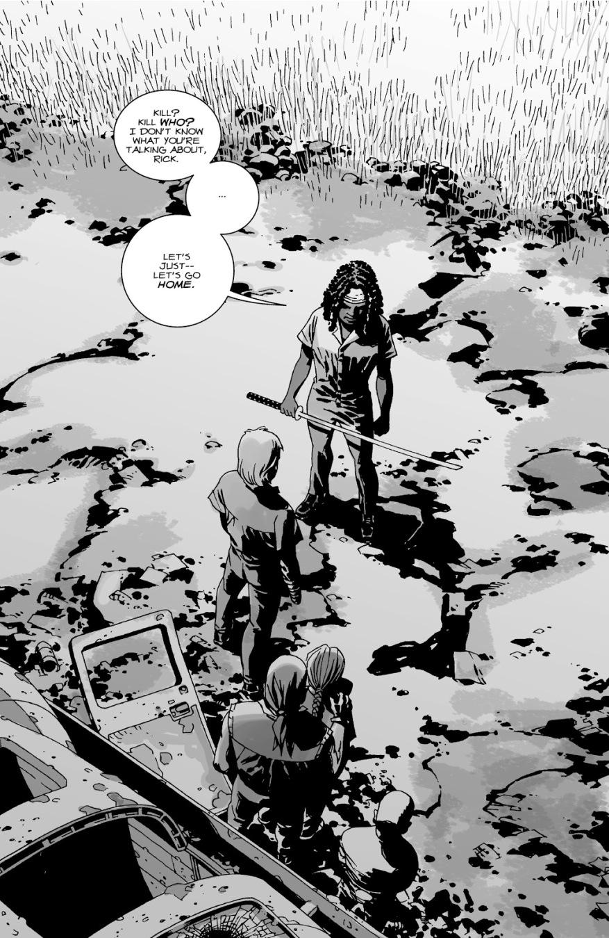 Michonne (The Walking Dead #33)