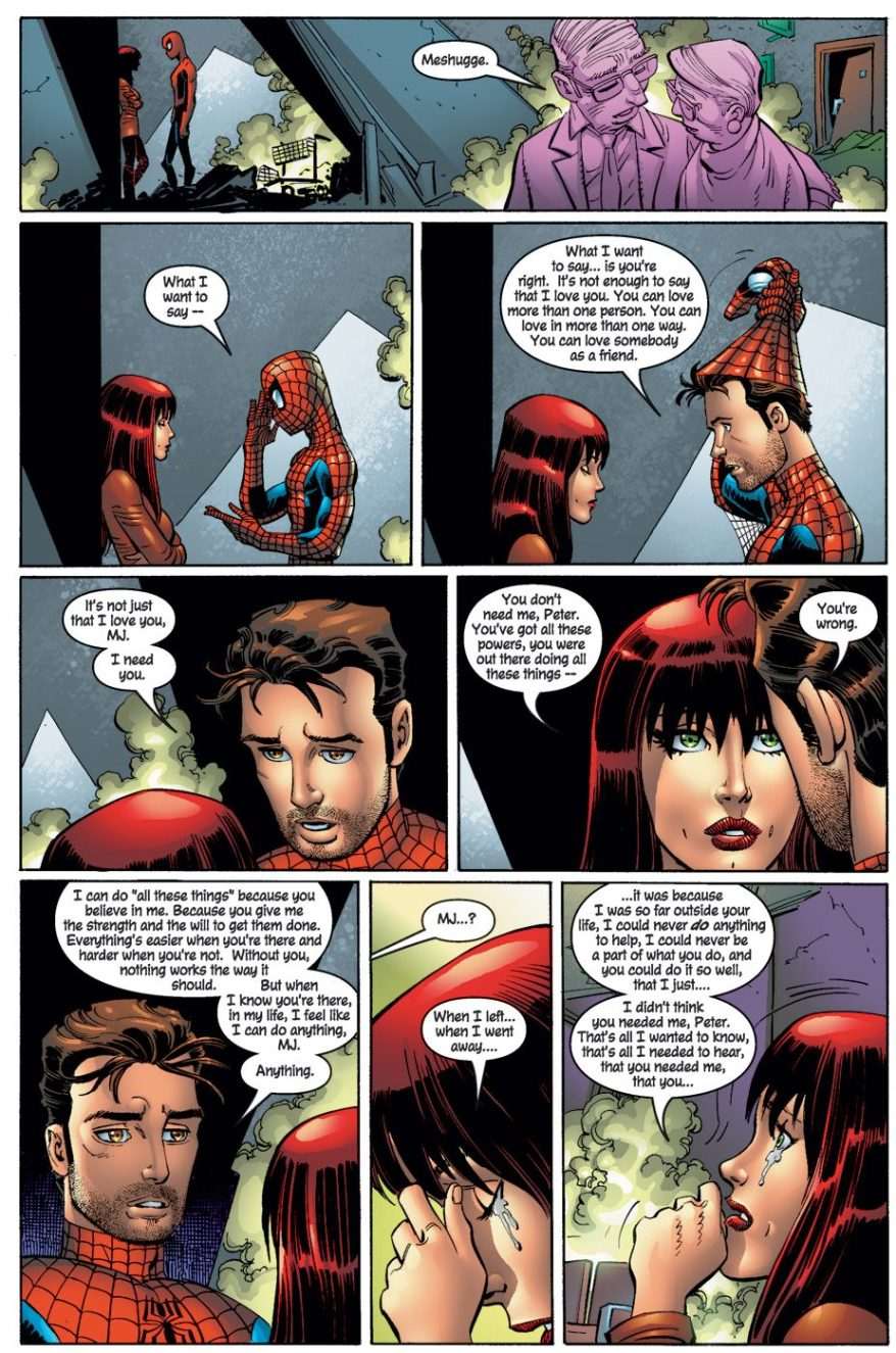 Peter Parker Loves Mary Jane (The Amazing Spider-Man Vol. 2 #50)