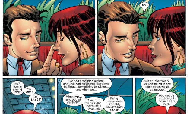 Peter Parker Saying No To Mary Jane