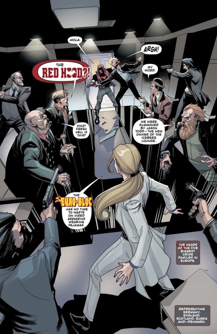 Red Hood VS The Euro-Bloc