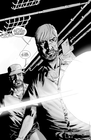 Rick Grimes And Dale (The Walking Dead #25)