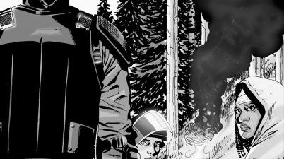 Rick Grimes, Glenn And Michonne (The Walking Dead #26)