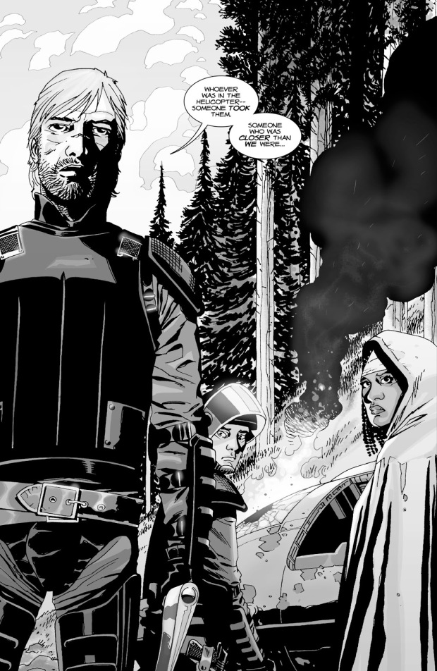 Rick Grimes, Glenn And Michonne (The Walking Dead #26)