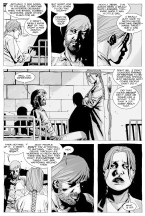 Rick Grimes Meets Alice Warren (The Walking Dead)